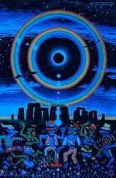 UV Blacklight Fluorescent & Glow In The Dark Psychedelic Art Poster